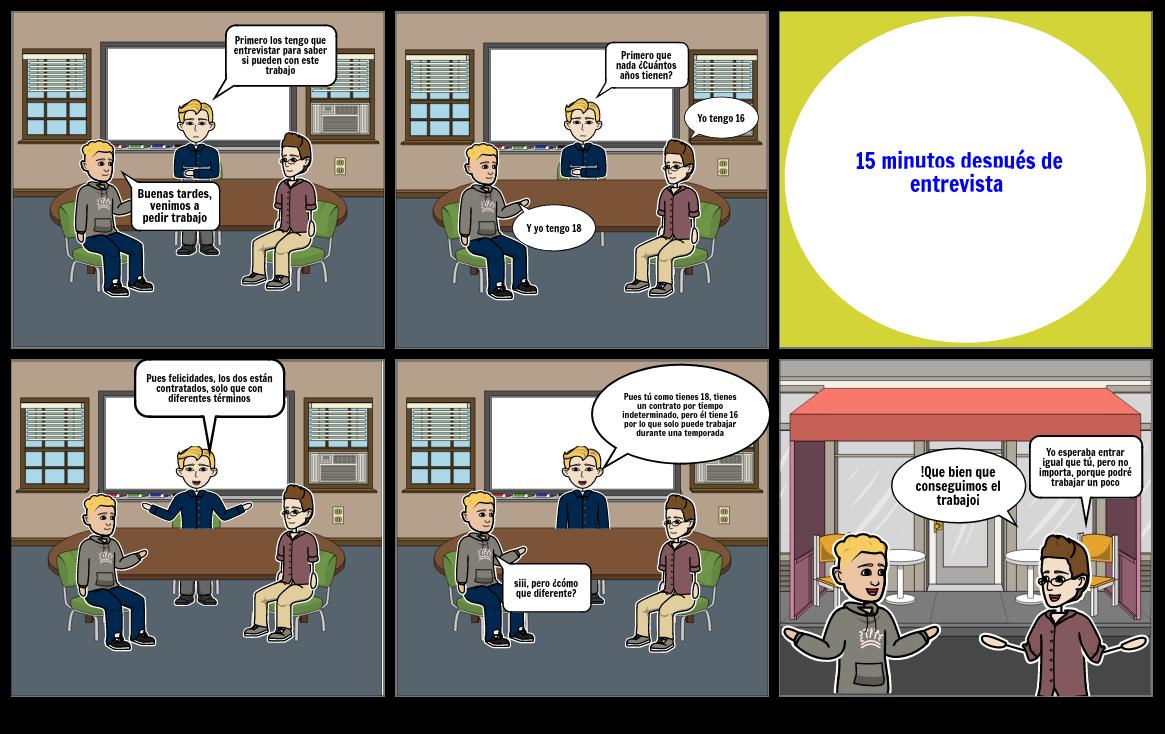 Comic (Contrato de T. determinado e indeterminado