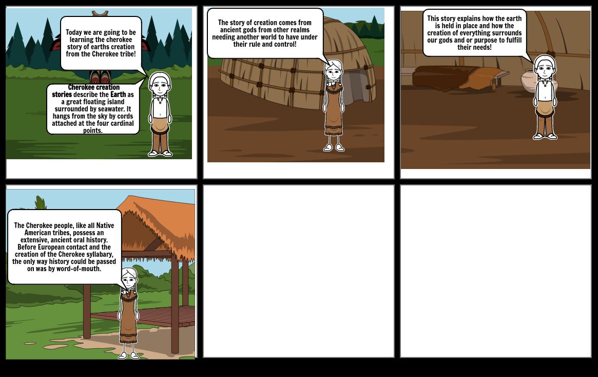 cherokee story