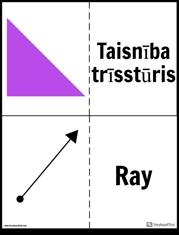 Ģeometrijas Flashcards