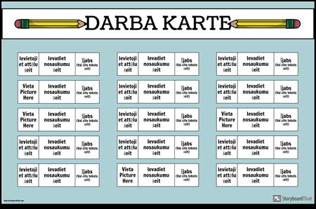 Darba Diagramma