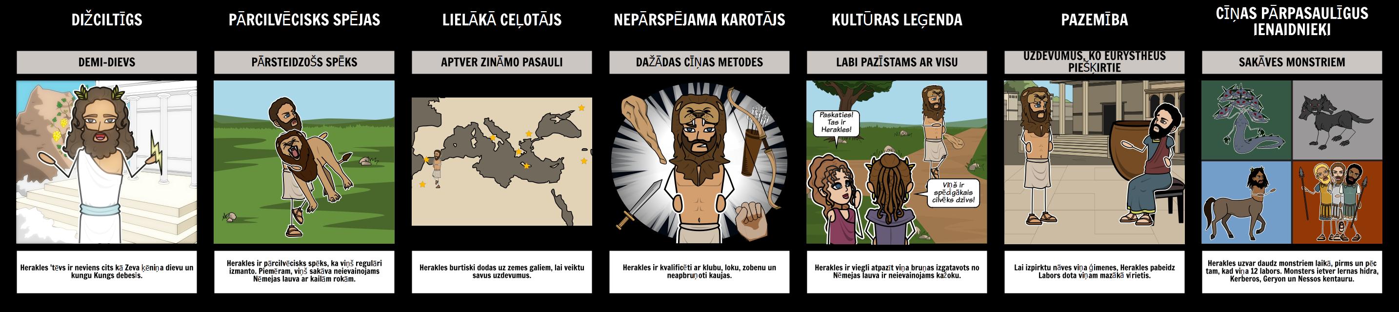 Herakles Epic Hero