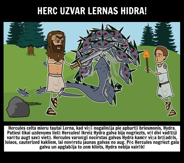 Herakles Lernas Hidra