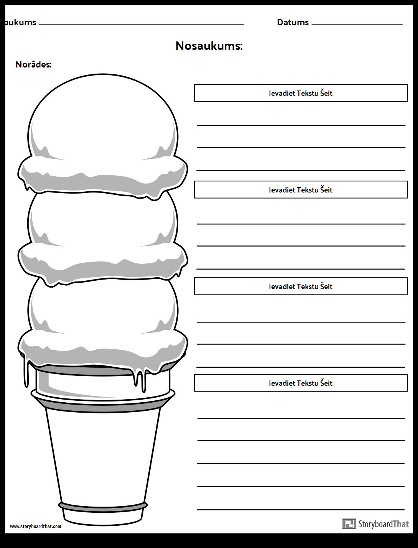 Ice Cream Cone Punkts