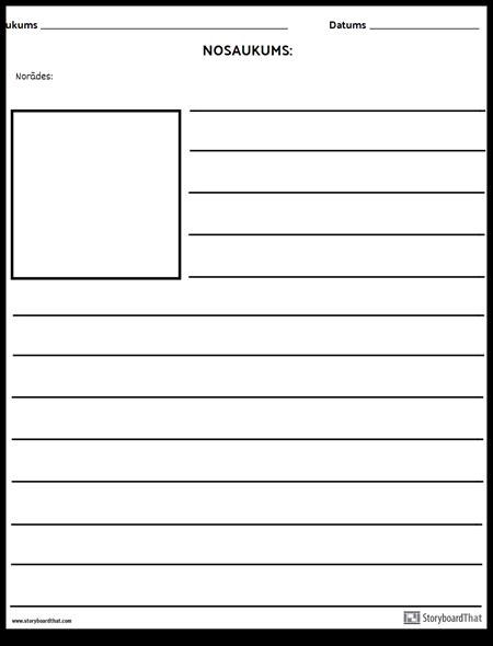 Kvadrātveida Ilustrācija