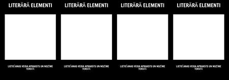 Literatūras Elementi T-Chart
