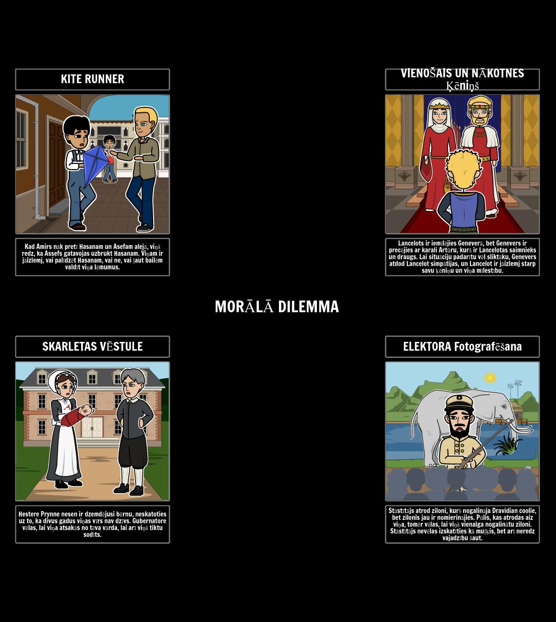 Morālo Dilemmu Piemēri Literatūrā