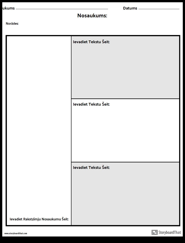 Rakstzīmju Diagramma - 3 Jautājumi