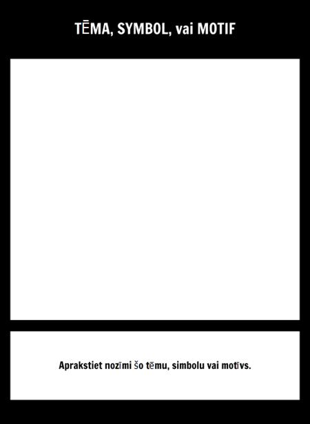 Simbols Square Template