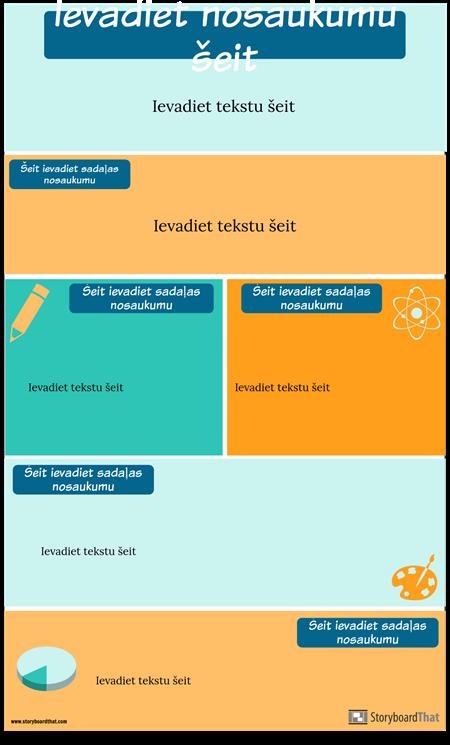 Stratēģiju Infografikas Veidne