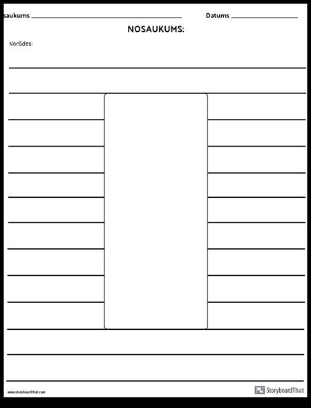 Taisnstūris Ilustrācija