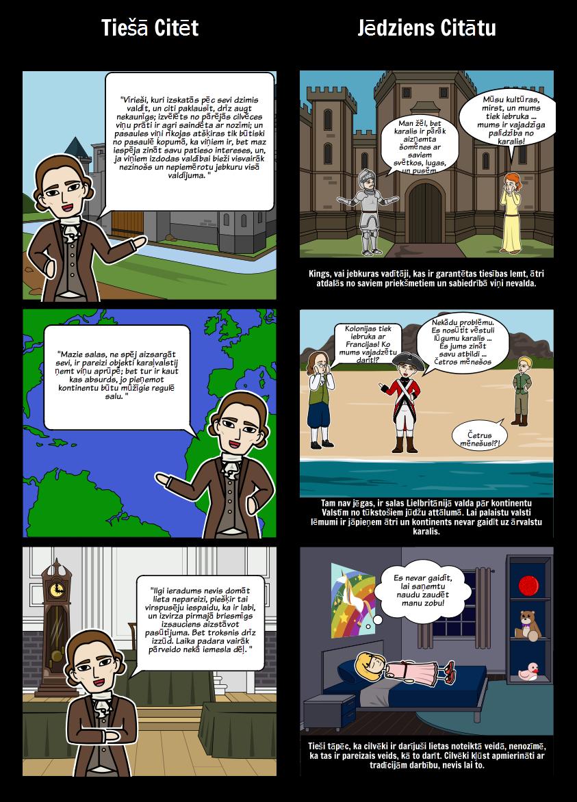 Thomas Paine Common Sense - Citāts Analīze
