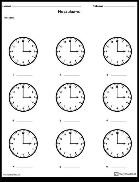 Uzrakstiet Laiku