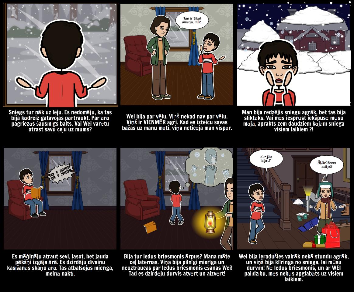 Ziemas Brīvdienu - Stāsts