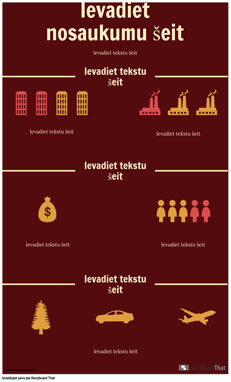 Zinātnes Infografikas Veidne