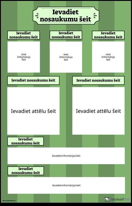 Zinātniskās Izstādes Plakāts Vertikāli
