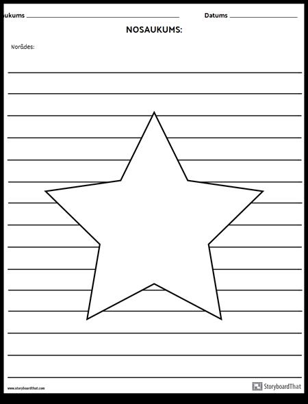 Zvaigzne Ilustrācija