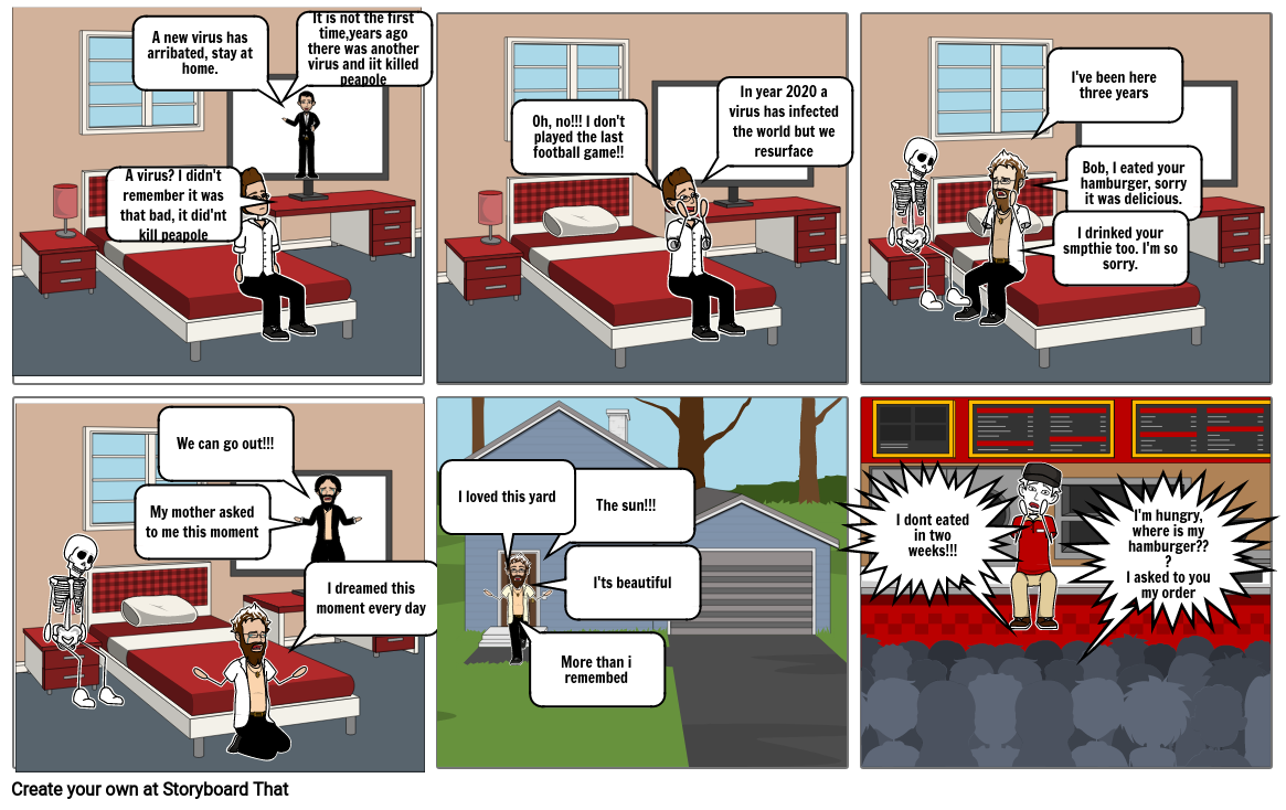 English storyboard 1 Marcos Cobos