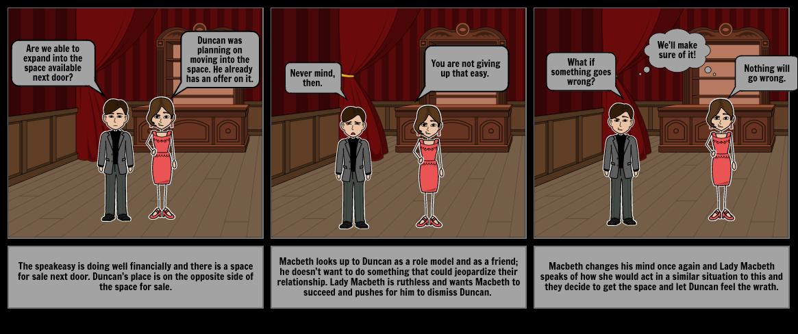 Modern Macbeth Project-Comic Strip-Madeline Satz