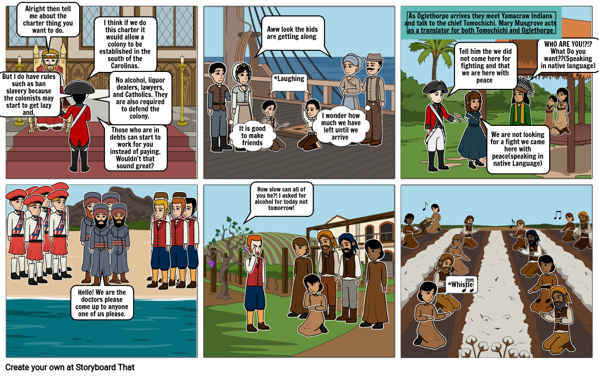 G.A Comic strip