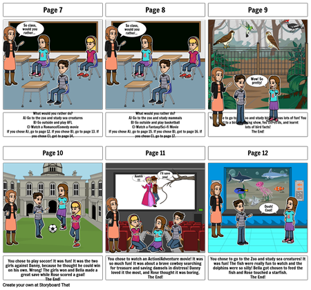 Computing Storyboard Part 2