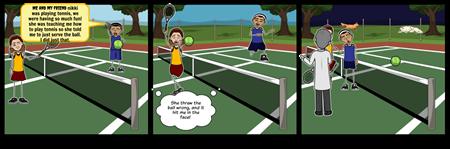 Storyboard for sports medicine