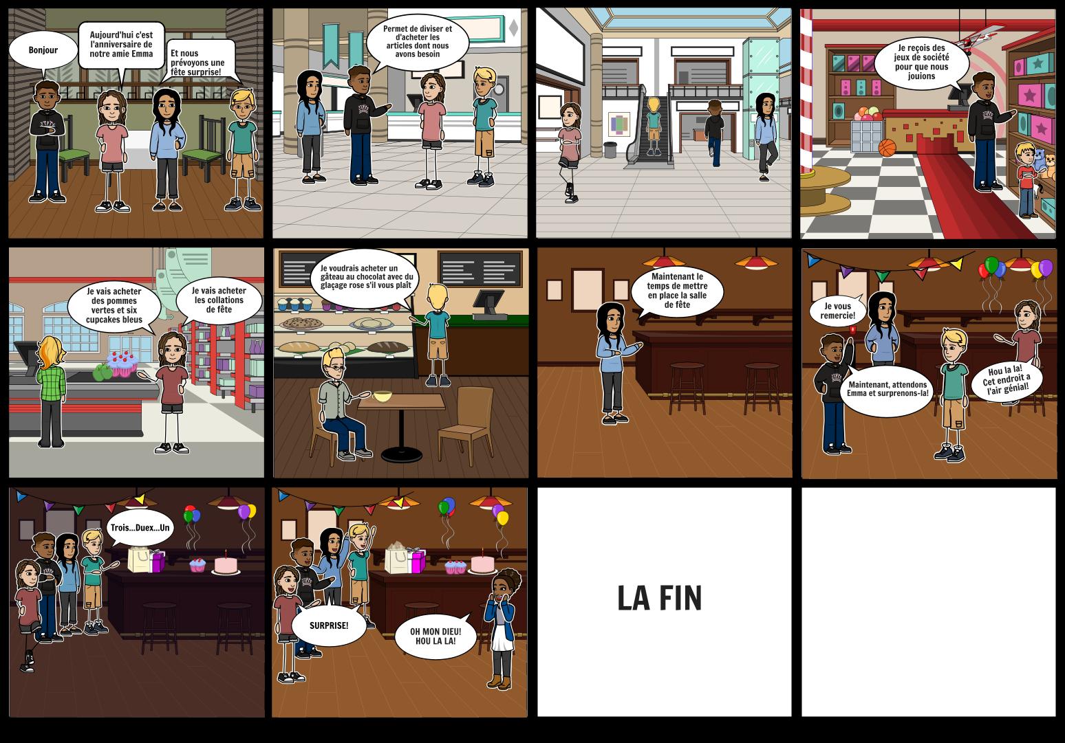 Mali's French comic