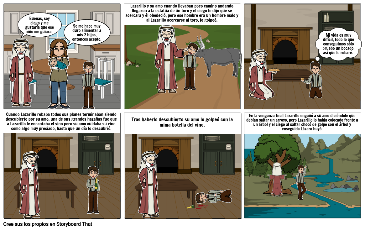 Lazarrillo de Tormes (su primer amo)