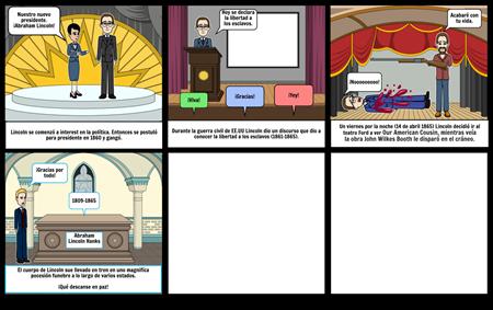 2da Parte Comic Abraham Lincoln