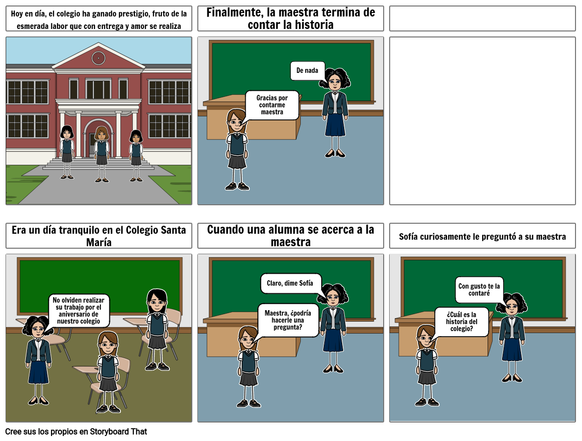 Historieta del colegio 2