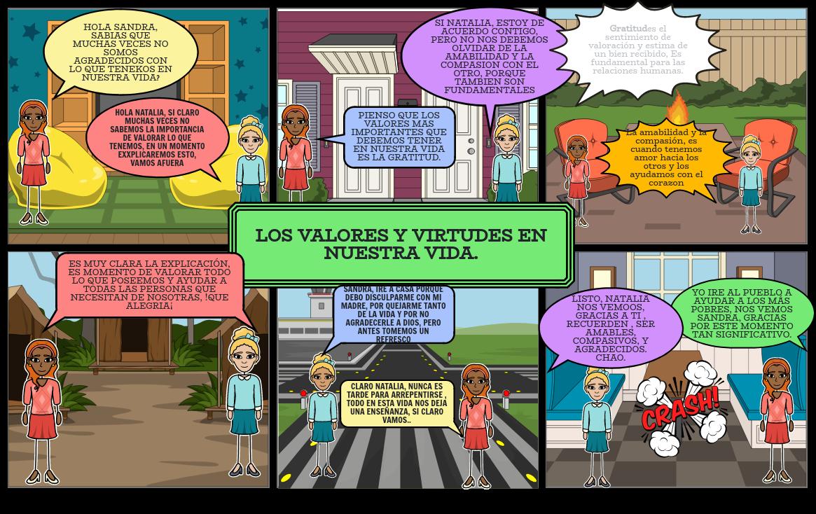 HISTORIETA DE LOS VALORES
