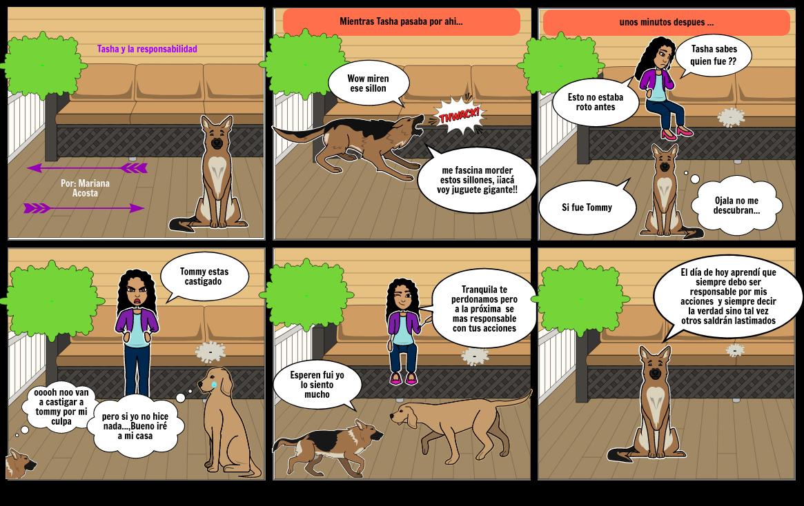 Tasha y la responsabilidad Por: Mariana Acosta