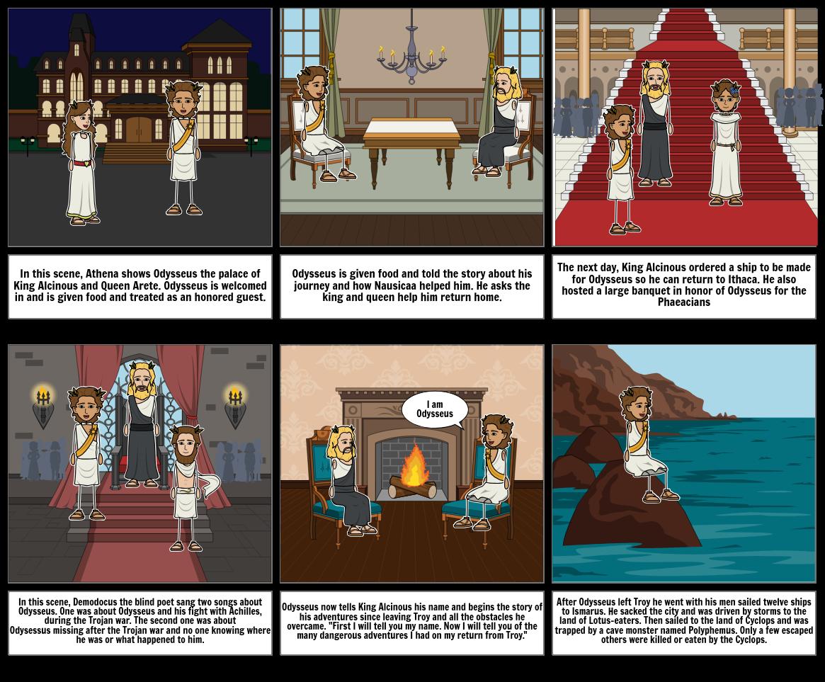 The Odyssey Books 7-9 (#5)