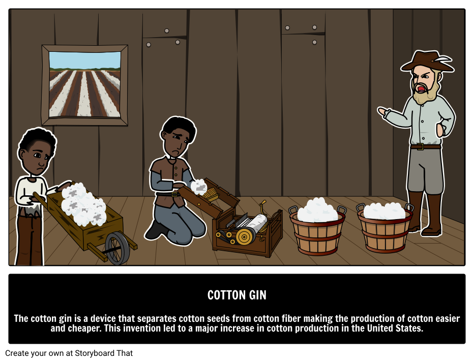 invention of the cotton gin by eli whitney what is a cotton gin