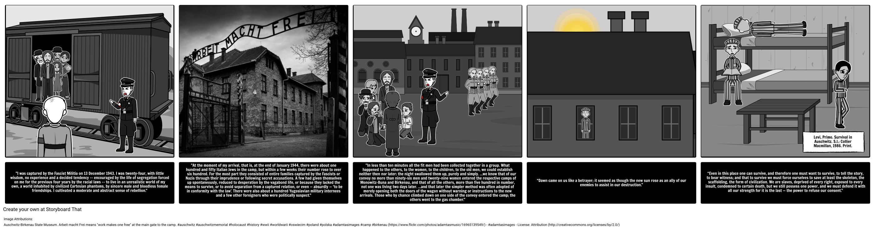 the history of the holocaust victims of the holocaust primo levy