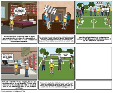 Comic Strip- Fever Pitch