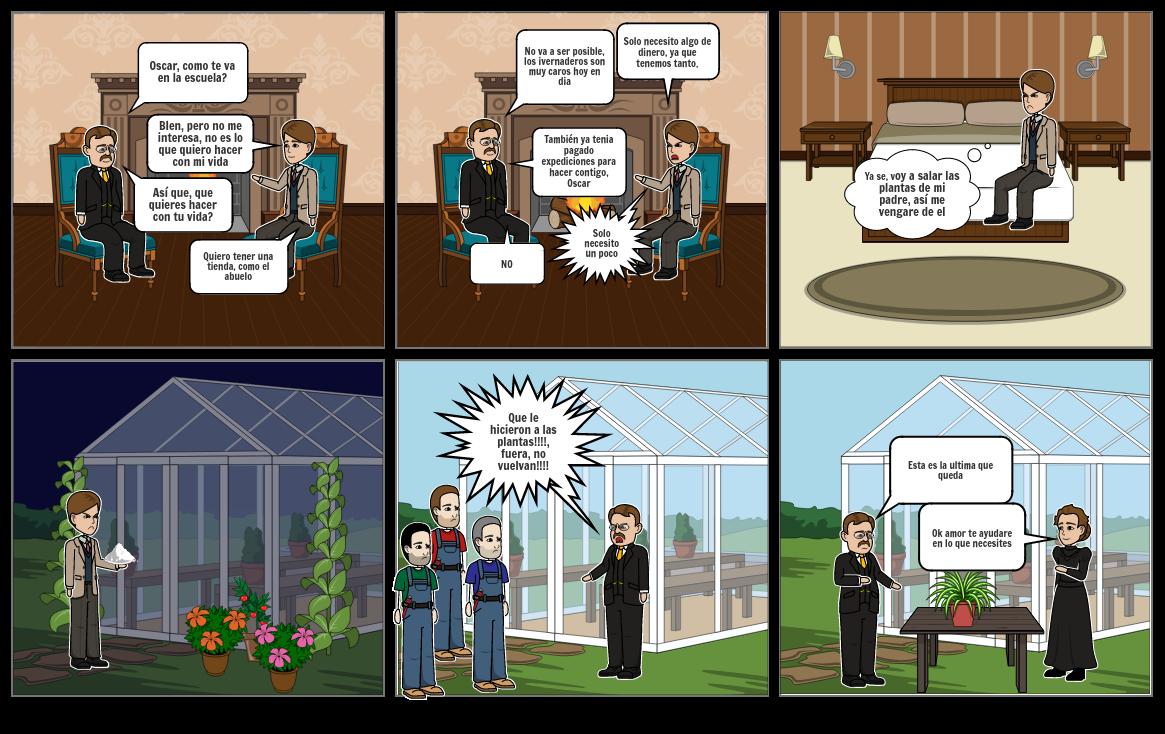 El invernadero parte 1