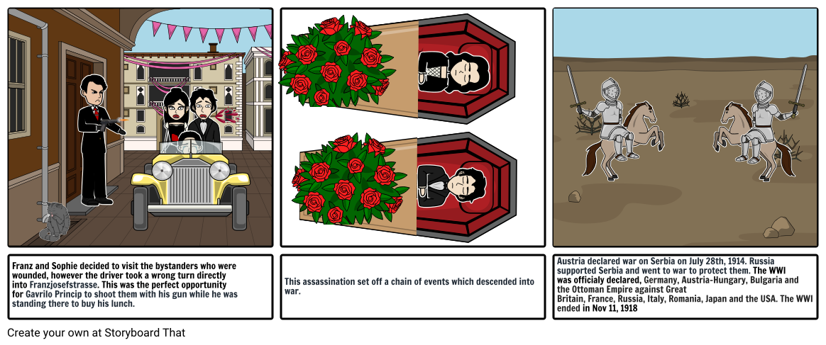 the assassination of Archduke Franz Ferdinand continuation