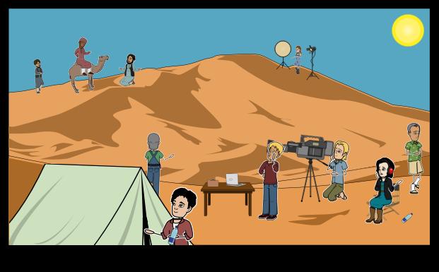 Desert Filming