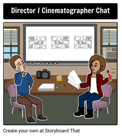 Director/Cinematographer Chat