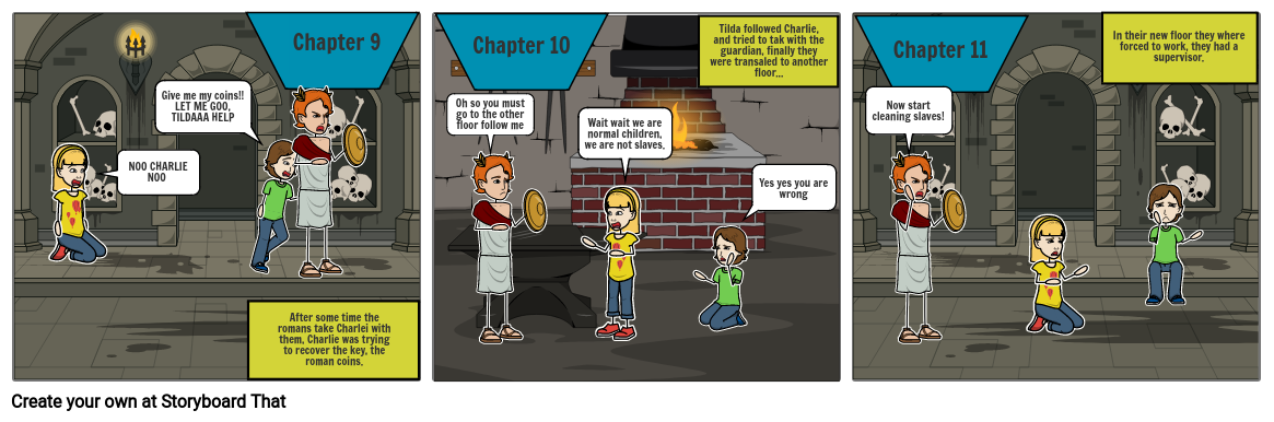 English comic strip 4 -6