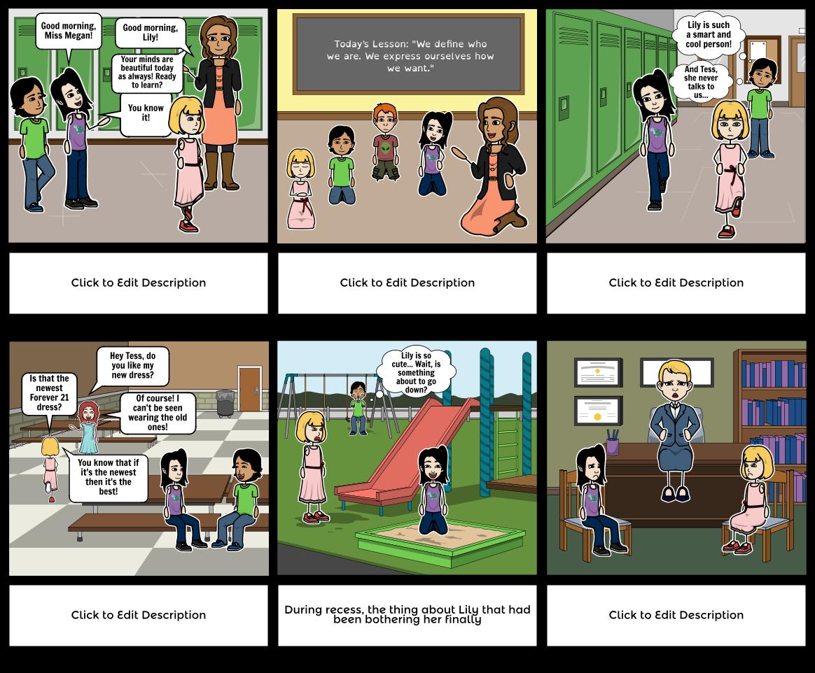 PoP Comic Middle School
