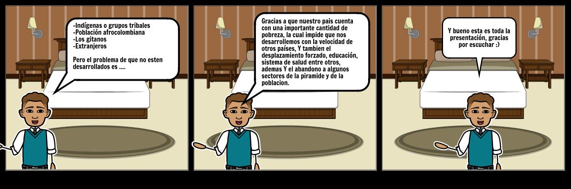 Storyboard Sobre El Liderazgo - Miguel Aguilar