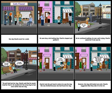 English Storyboard Part 1