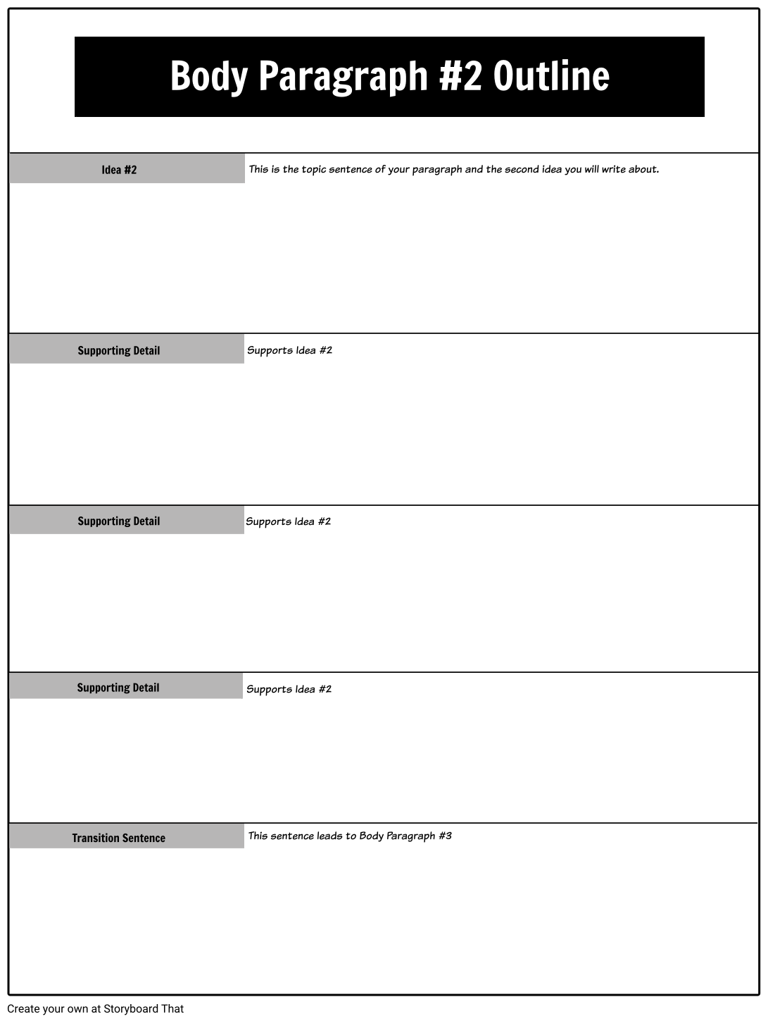 scaffolding writing for struggling students