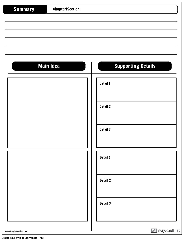 ITA- Summary W/Main Idea