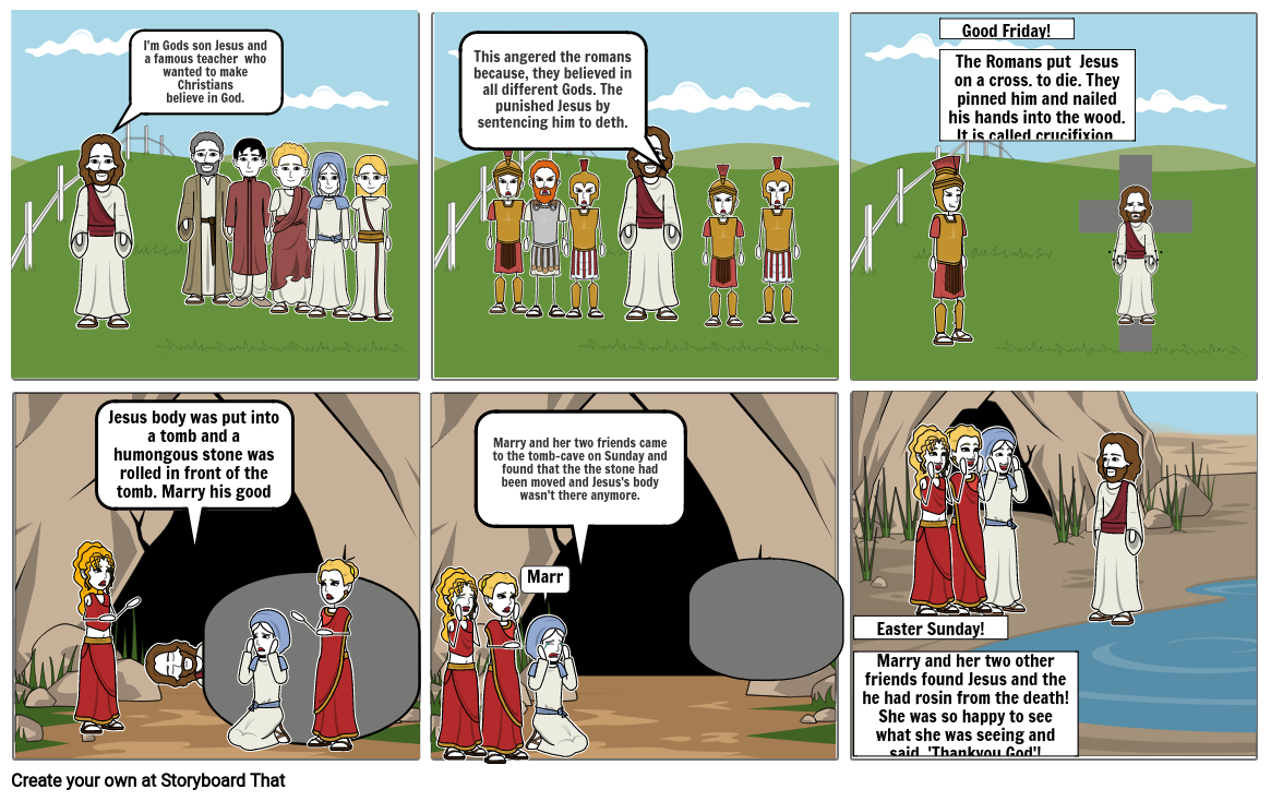 Story of Easter.
