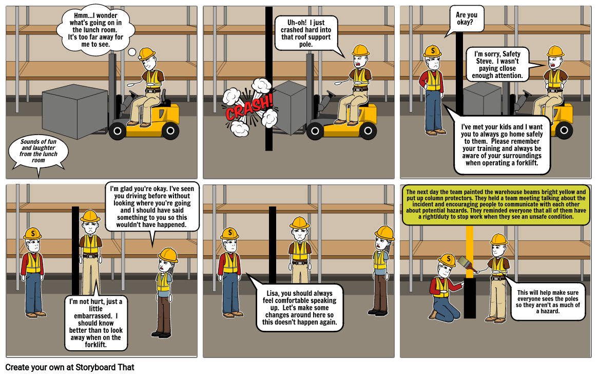 The Safety Squad:  Forklift Accident