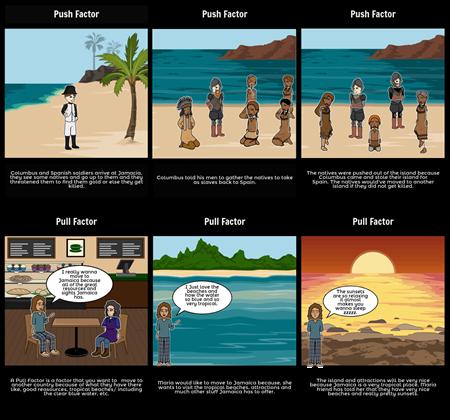 Push And Pull Factors of Jamaica