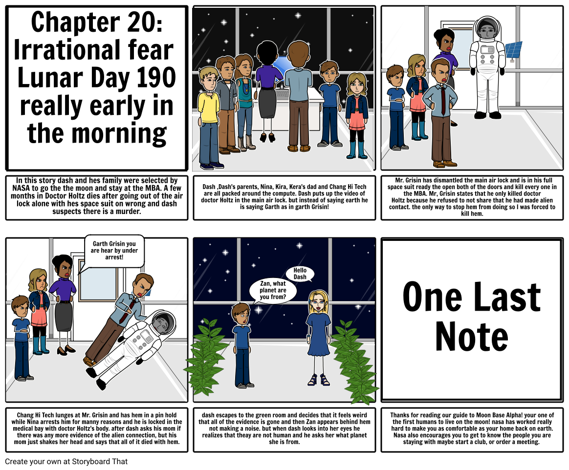 Chapter 20 of Space Case