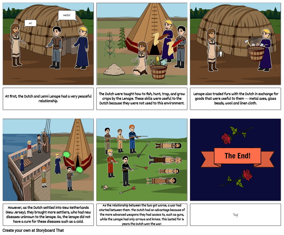 Social Studies Chapter 4 Project